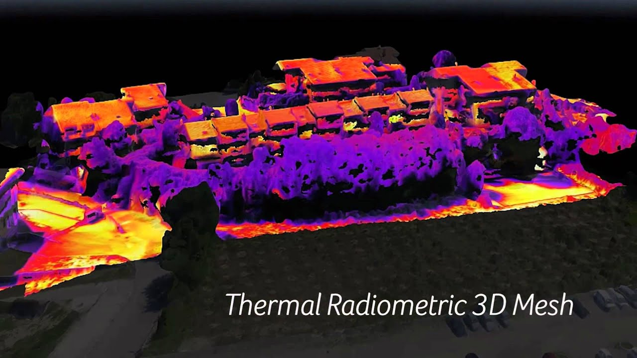 Pix4D - Drone-based Thermal Modeling