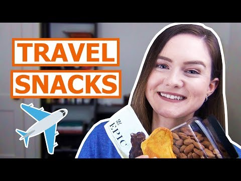 Healthy Airplane Travel Snack Ideas!