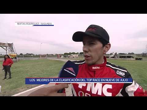 Girolami, Rodríguez y Rossi, protagonistas de la clasificación en 9 de Julio