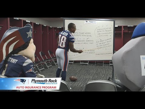 Matthew Slater: The New England Patriots Official Auto Insurance Program from Plymouth Rock