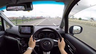 【Test Drive】 2017/2018 New Daihatsu MOVE Custom Turbo 4WD - POV City Drive