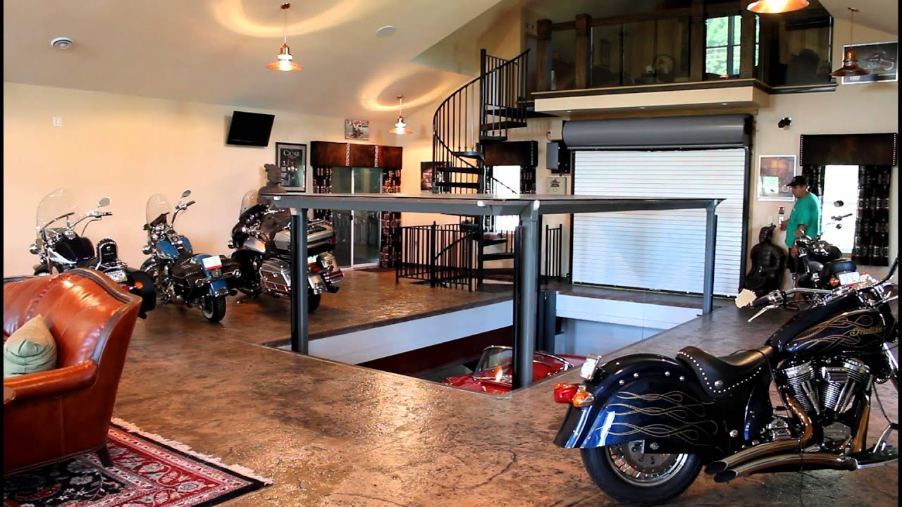 In Ground Garage Car Lift Phantompark Subterranean Parking Lift American Custom Lifts