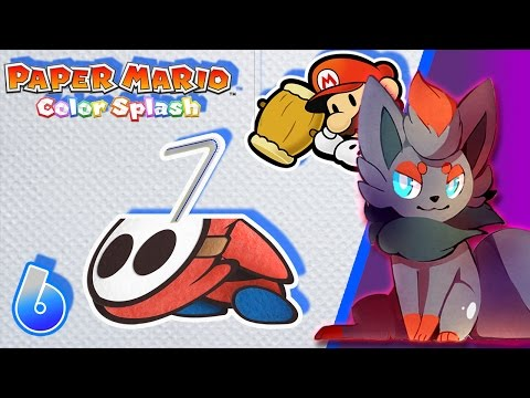 WTF!? - Paper Mario Colour Splash - Part 6