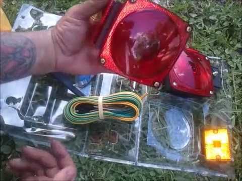 how to install trailer lights - YouTube