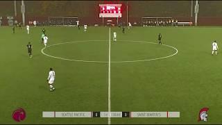 SPU MEN'S SOCCER: Titus Grant goal (Nov. 9, 2019)