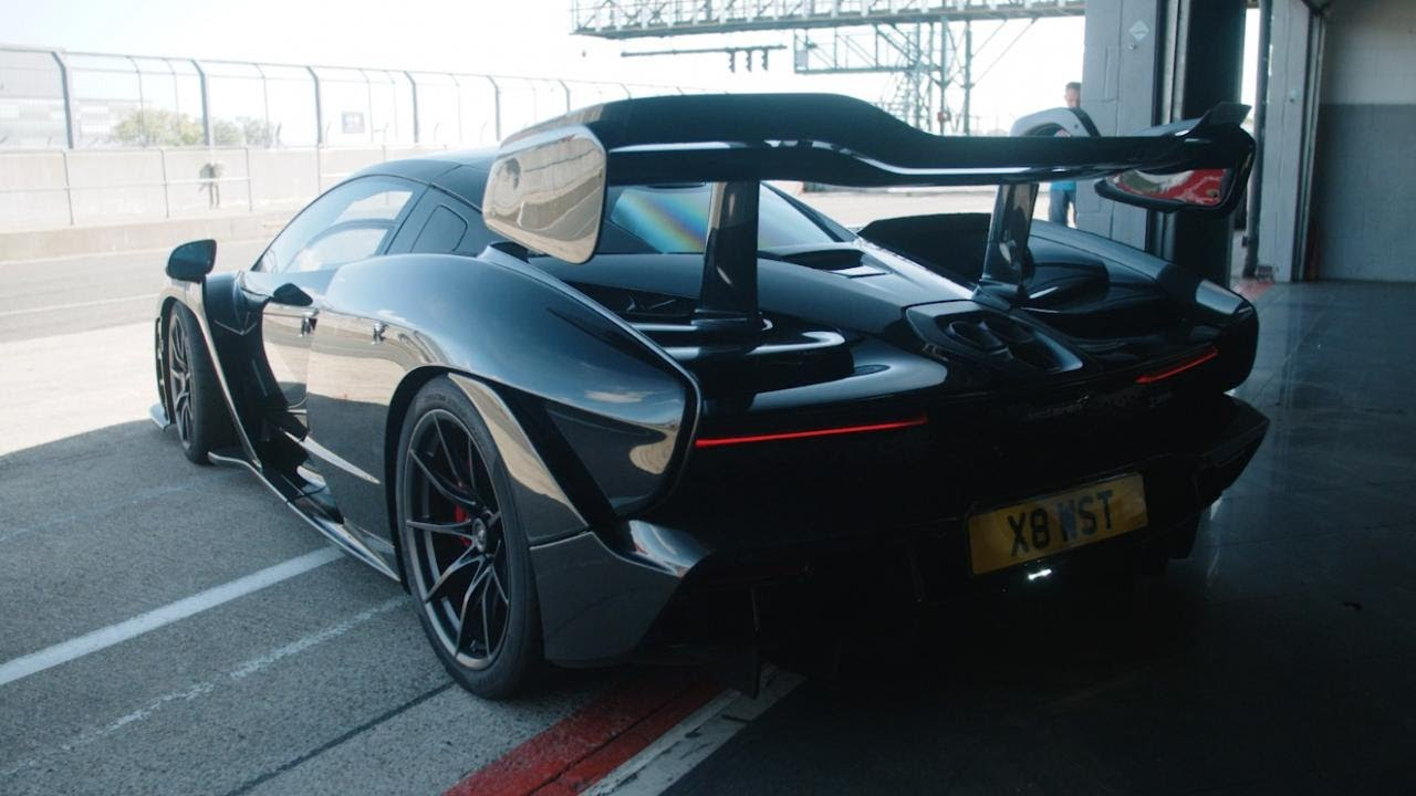 The McLaren Senna Still Can't Beat a GT3 Race Car Around a Track