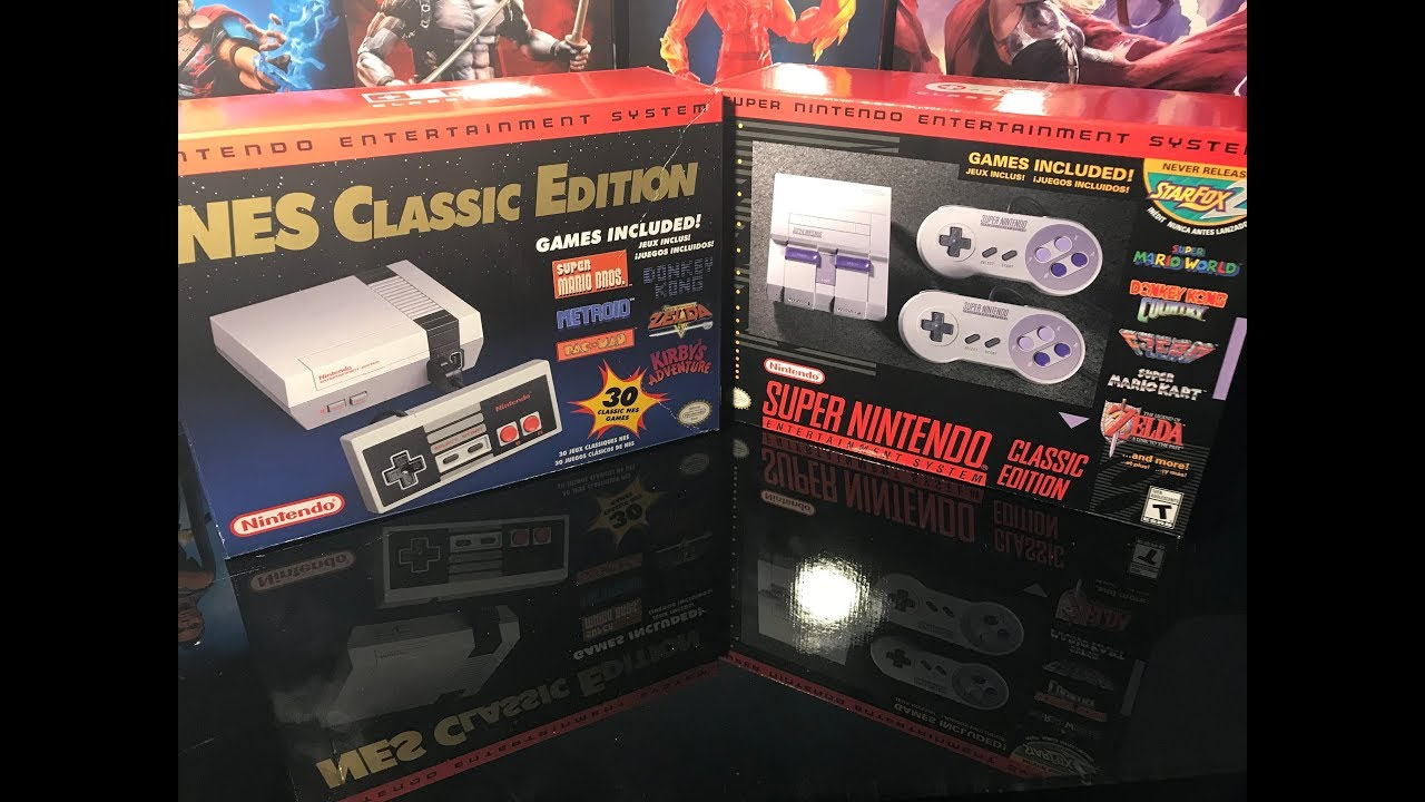 Nintendo Snes Classic Edition Mini Unboxing Comparison With Nes
