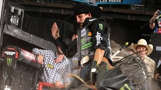 TOP RIDE: J.B. Mauney puts up 90.25 points (PBR)