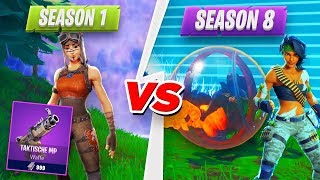 SEASON 1 VS. SEASON 8 QUIZ new game mode in Fortnite