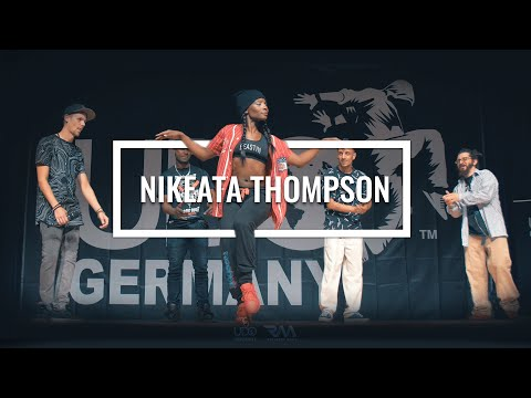 Nikeata Thompson Tanzt bei UDO Germany 2016 [JUDGE SHOWCASE] // by Roschkov Media