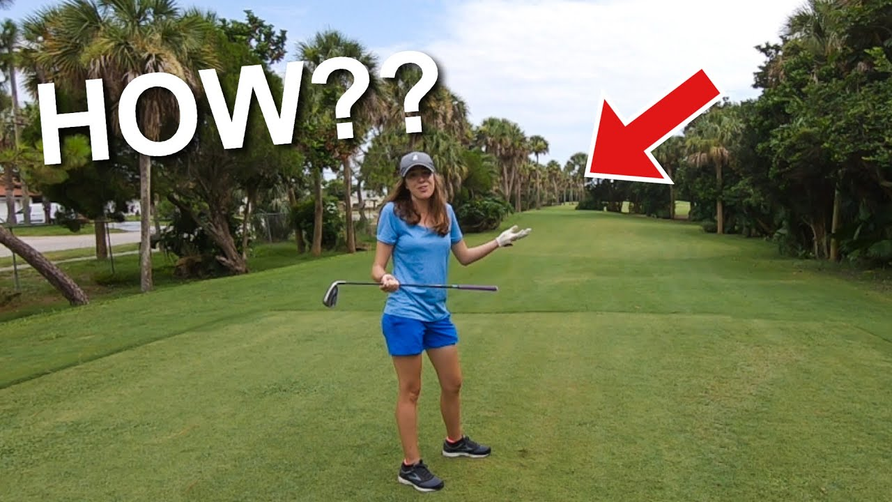 Ashley Gets THE SHANKS And Then THIS HAPPENED!! (Golf Is A CRAZY Game!!)