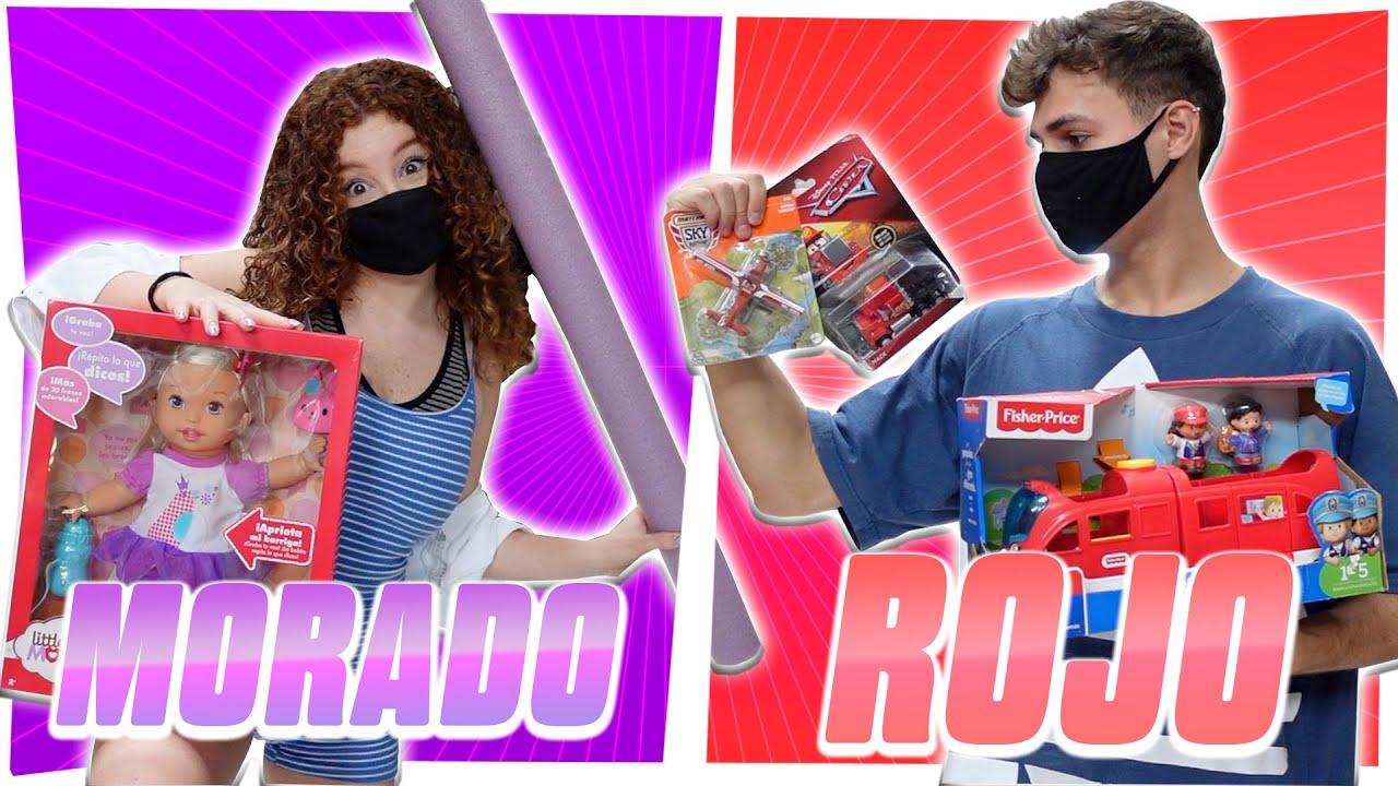 24 HORAS COMPRANDO TODO ROJO Y MORADO !!