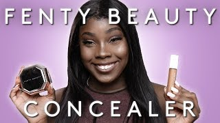 Fenty Beauty Concealer Review + Setting Powder Review