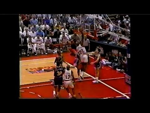 Clyde Drexler - 41 points vs Jazz Full Highlights (1995.05.05) (1995 WC1R GM4)