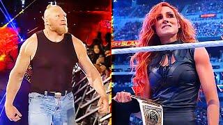 BROCK LESNAR BECKY LYNCH RETURNED WWE SummerSlam 2021 Review