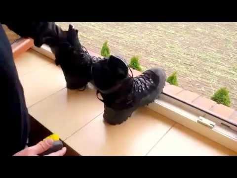 d2666fb3d6940 Bota Guartelá Attack III Dry em teste de tortura - YouTube