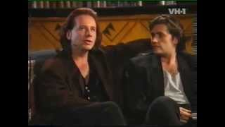 Simple Minds Interview (Jim Kerr, Charlie Burchill) with Robert Sandall on VH1 (Pt 1) 1995