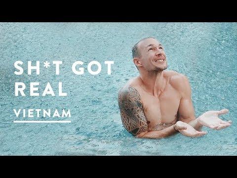 STORM HITS! CRAZY HOI AN WEATHER   Vietnam Travel Vlog 058, 2017   Digital Nomad