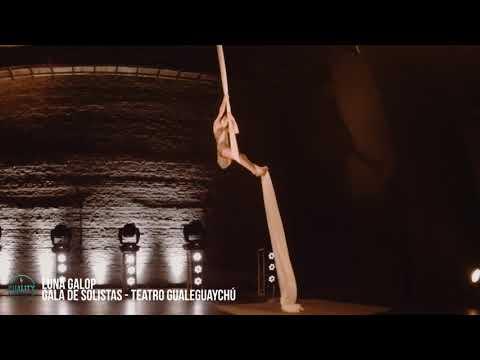 GALA DE SOLISTAS 2019 -  Luna Gallop - Acrobacia En Telas