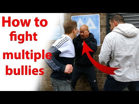 how to fight multiple bullies