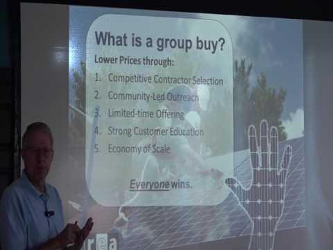 Solarizing: Getting solar panels price down