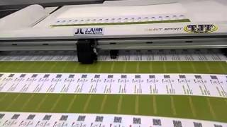 PLOTTER GRAPTEC CORTANDO FOREX IMPRESO SE 1 MM