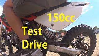 Small Dirt-Bike (IMR 150cc) test drive