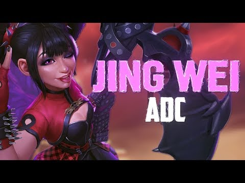 Jing Wei ADC: CRIT CAN STILL BE THE SH....BEST! - Incon - Smite