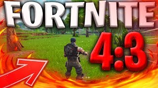 UPDATE FORTNITE IN 4:3 AFTER THE PATCH !!!