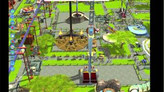 Rollercoaster Tycoon 3 for Mac Review & Gameplay