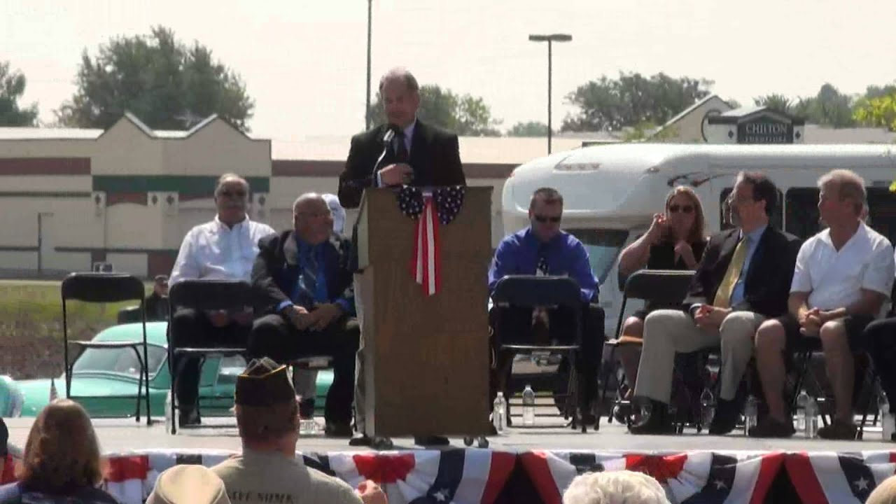 Chilton Veterans Memorial Dedication Ceremony