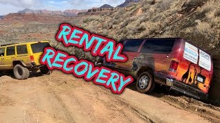 Oops!!  RENTAL in the DITCH!!