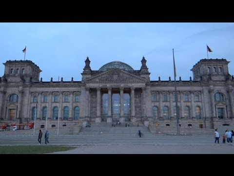 Berlin, Germany - German Bundestag at the Reichstag building HD (2013)