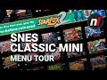 Super NES Classic / SNES Mini User Interface Menu Tour - New Rewind State Feature