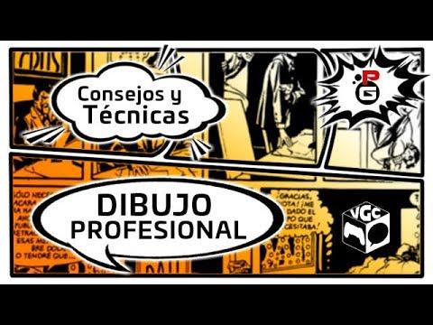 DIRECTO: Video Game Comic 2017   Consejos y técnicas en el Dibujo Profesional #VGC2017