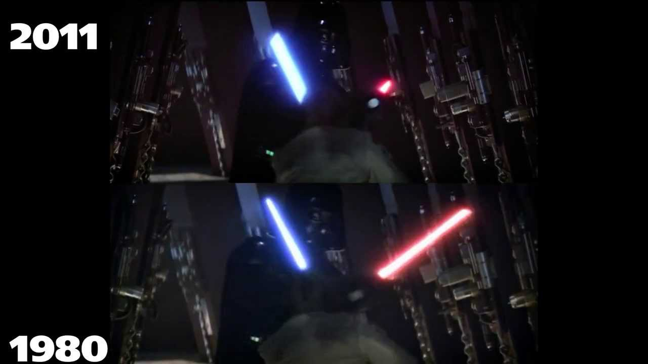 Star Wars 1980 V S 2011 I Am Your Father YouTube
