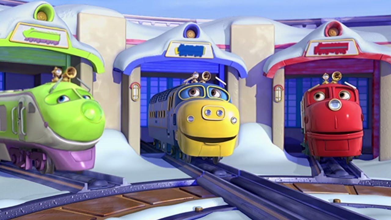 Chuggington italiano wilson il treno delle nevi cartoni animati
