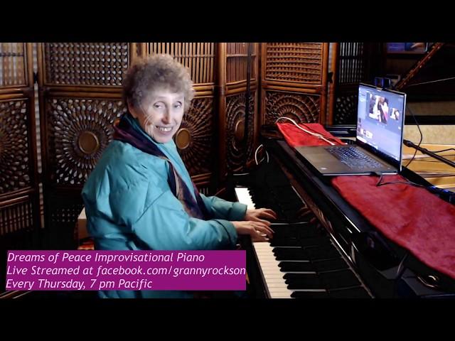 Dreams of Peace Improvisational Piano, Beth Green, 1-16-20