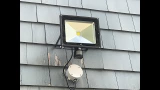Amazon LED Flood Light Product Review 50W