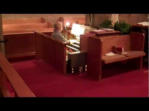 Selection from Handel's Water Music played on Moller pipe organ