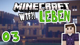 Minecraft LEBEN #03   Der Unterschied von einem Tag!   Zombey