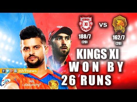 KXIP vs GL 2017 Highlights | Kings XI Punjab vs Gujarath Lions 2017 Highlights | #ipl10 | NH9 News