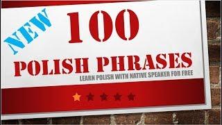 Polish for beginners 100 Polish phrases