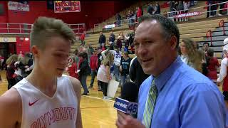Northwood vs Plymouth Post Game Show - December 14, 2018