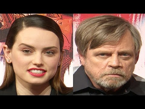 Star Wars The Last Jedi Premiere Interviews