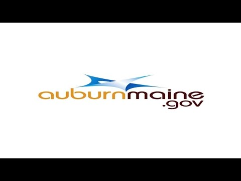 City of Auburn Maine Council Special Workshop For 09/12/2017