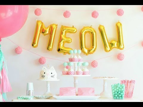 25 Kitty Cat Party Ideas