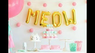 25 Adorable Kitty Cat Party Ideas & Supplies!