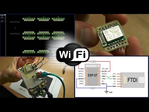 ESP8266 Serial Interface to WiFi