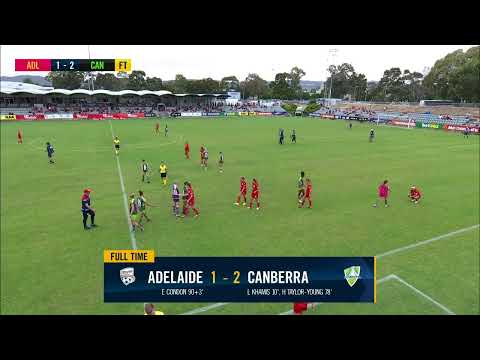 Westfield W-League 2019/20: Round 6 - Adelaide United Women V Canberra United Women (Full Game)